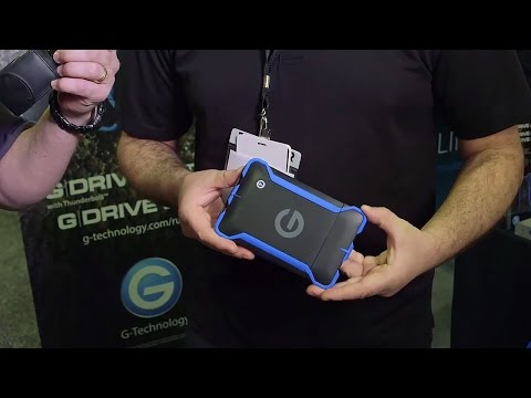 Imaging USA 2015: G-Technology ev ATC Thunderbolt Drive