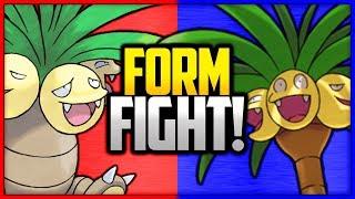 Exeggutor: Kanto vs Alola | Pokémon Form Fight by Ace Trainer Liam