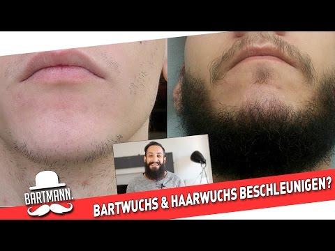 BARTWUCHS & HAARWUCHS BESCHLEUNIGEN MIT MINOXIDIL | BARTMANN