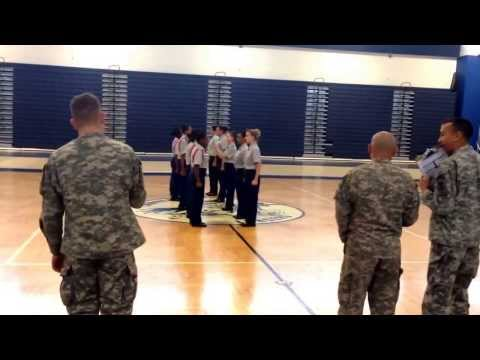 Commerce High School JROTC Unarmed Exhibition