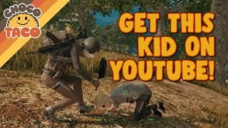 Video chocoTaco Helps ANOTHER Cute Kid Win His First Game - PUBG Gameplay MP3, 3GP, MP4, WEBM, AVI, FLV Januari 2019