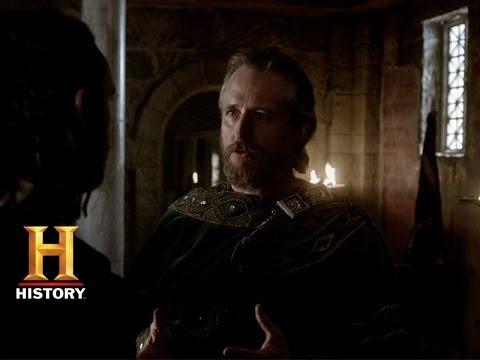 Vikings: King Ecbert Discusses Paganism with Athelstan (Season 2, Episode 6)   History