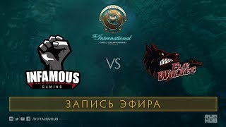 Infamous vs Elite Wolves, The International 2017 Qualifiers [Tekcac]