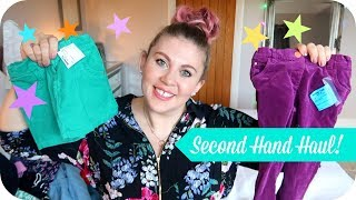 Second Hand Kids Clothes Haul- Boys and Girls! | MOTHERHOOD by Sprinkle of Glitter