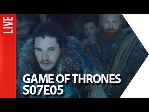 Game of Thrones Comentado - S07E05  OmeleTV AO VIVO