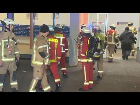 Brandserie in Berliner Hochhaus: Polizei fasst mutm ...