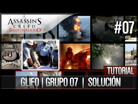 Assassin's Creed Brotherhood | Walkthrough Español | Glifo | Grupo 7 | Solución