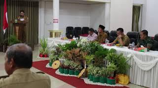 Laporan Kepala BAPPEDA Pasaman dalam Rapat Koordinasi Penurunan Stunting di Pasaman