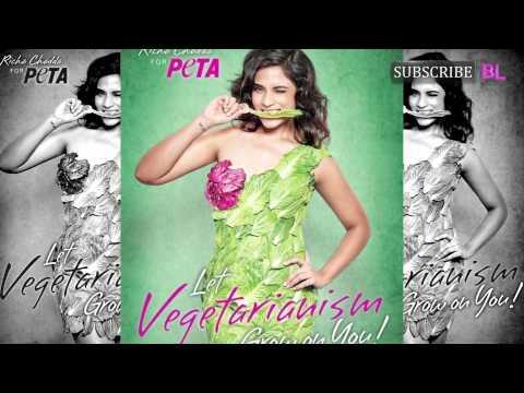 Richa Chadda goes green for PETA