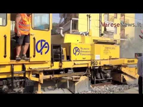 Lavori sulla ferrovia