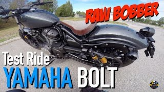 6. 2018 Yamaha Bolt Raw Bobber Test Ride