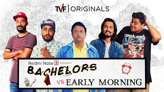 Video TVF Bachelors | S01E04 - Bachelors vs Early Morning ft. BB ki Vines MP3, 3GP, MP4, WEBM, AVI, FLV Januari 2018