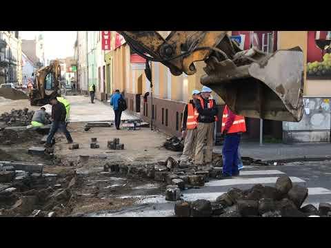 Wideo1: Przebudowa Słowiańskiej w Lesznie