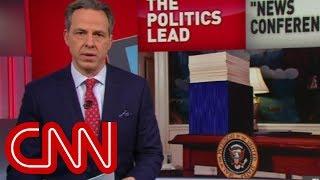 Video Tapper: Trump's battle with facts continues MP3, 3GP, MP4, WEBM, AVI, FLV April 2018