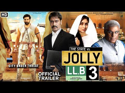 Jolly LLB 3 movie official trailer Ajay Devgan I Kareena Kapoor Iakshy Kumar I Ashish Vidyarthi