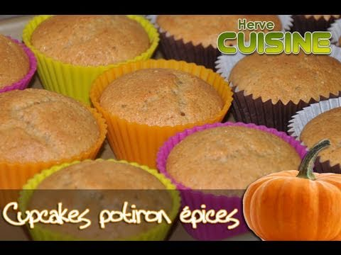 Recette d'Halloween : Cupcakes  la courge et aux pices