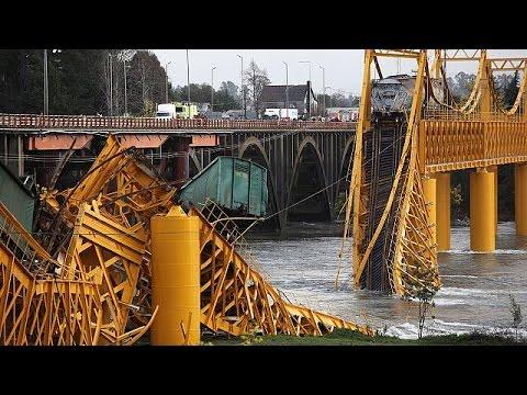 Χιλή: Συντριβή εμπορευματικής αμαξοστοιχίας μετά από κατάρρευσης γέφυρας