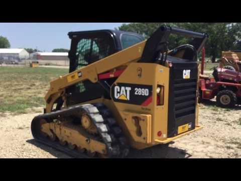 CATERPILLAR MINICARGADORAS 289DSTD2CA equipment video n6Gu5HkbN0o