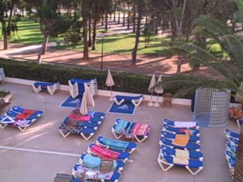 Sol Mirlos hotel pool view