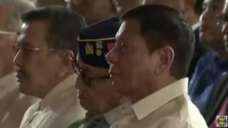 Drilon reads resolution proclaiming President Duterte, VP Robredo