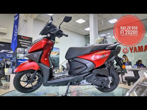 New 2020 Yamaha Ray ZR 125 BS6 FI!! New Features | Exhaust | Complete Review