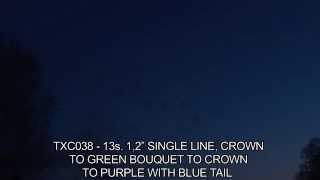 Evantai Single Line 13 S Crown To Green Bouquet