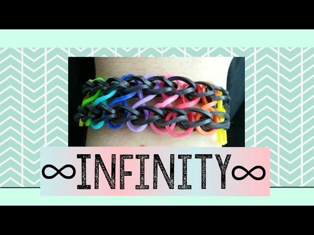 Cara Membuat Gelang Rainbow Loom Loom Bands Infinity