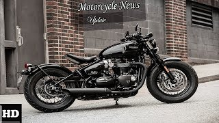1. HOT NEWS  !!! 2018 Triumph Bonneville Bobber Chassis Overview  Price and Specs