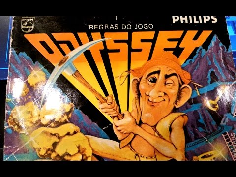 Classic Game Room - PICKAXE PETE review for Magnavox Odyssey 2