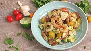Seafood & Avocado Salad | Episode 1081 by Laura in the Kitchen