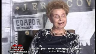 Emisiunea De la inima la inima - Invitat PROF ALEXANDRU CALINESCU