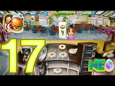 Cooking Fever: Gameplay Walkthrough Part 17 - Bakery Level 1 - 5 (iOS, Android)