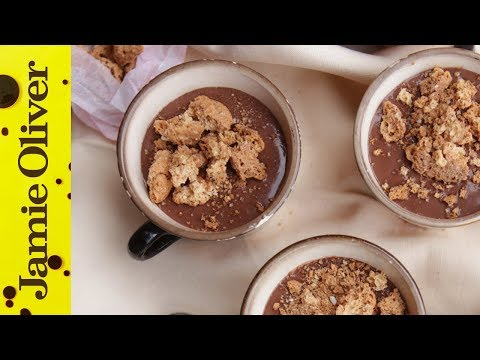Chocolate Amaretto Pudding | Gennaro Contaldo