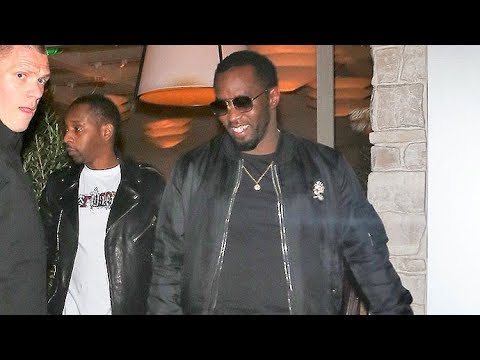 P Diddy Dines With Jay Z In A Music Mogul Summit!