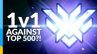 1v1 against a top 500?!