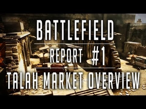 Battlefield 3: Aftermath's Talah Market Map Gets Showcased in Video