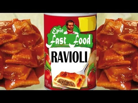 Epic Meal Time Fast Food Ravioli