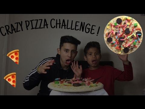 CRAZY PIZZA CHALLENGE!!