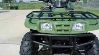 2. Review: 2013 Kawasaki Prairie 360 4X4 in Scout Green