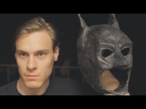 Latex Mask Tutorial - Batman