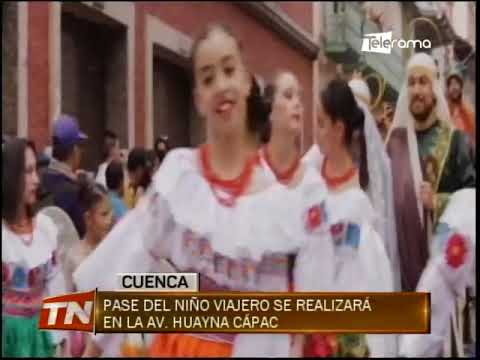 Pase del Niño Viajero se realizará en la av. Huayna Cápac