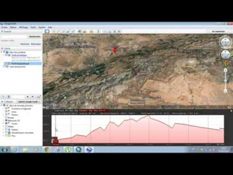 how to set elevation in google earth