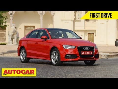 2014 Audi A3 Sedan 35TDI Diesel | First Drive Video Review | Autocar India
