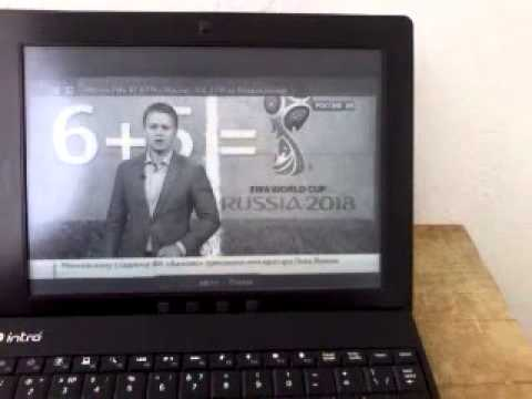 Test TV online-broadcast E-Ink display e-book reader Onyx Boox m96