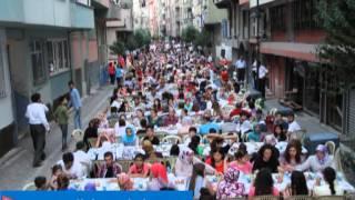 Zeytinburnu Belediyesi Sokakİftarı Sümer Mahallesindeydi