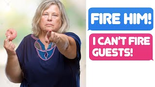 Video r/ I Dont Work Here Lady - I CAN'T FIRE GUESTS OR CUSTOMERS! MP3, 3GP, MP4, WEBM, AVI, FLV Agustus 2019