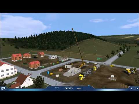 Crane Simulator 2009: Gameplay Prefabricated House