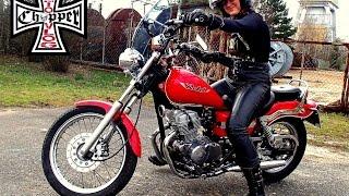 Pierwszy raz na motocyklu Honda Rebel CA125