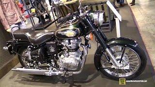 9. 2015 Royal Enfield Bullet 500 - Walkaround - 2014 EICMA Milan Motorcycle Exhibition