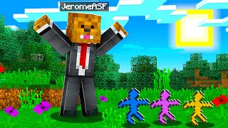 We Made 100 Clay Soldiers Fight In A Minecraft Battledome | JeromeASF